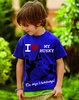 """I LOVE MY HUSKY""  Kinder T-Shirt"