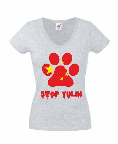 Damen Shirt - STOP YULIN -