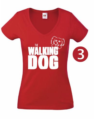 T-Shirts Lady - The Walking Dog
