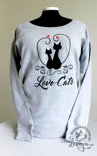 Sweater Love my Cats
