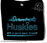 Girlie Sweat -Diamonds Husky Strass-Look