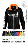 Ladies` Softshell Jacke HUSKY what else? Glitzeraugen