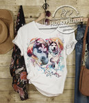 Ladies Shirt - Husky Baby Herz Dreamcatcher